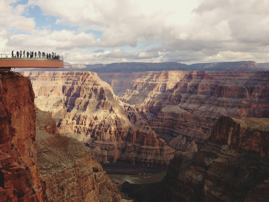 Grand canyon Skywalk general view