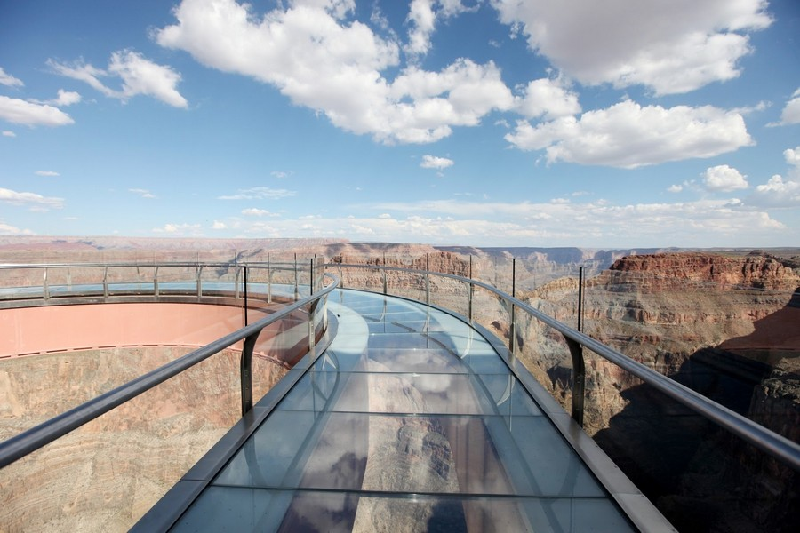 grand canyon skywalk pathway