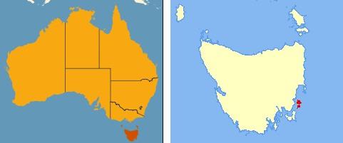 maria island map
