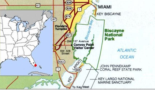 Biscayne-national-Park-Map