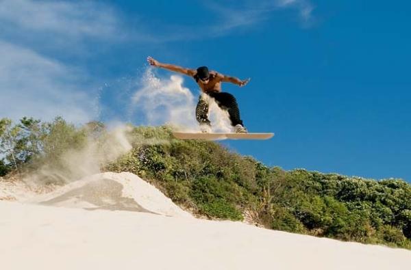 Sandboarding xtreme