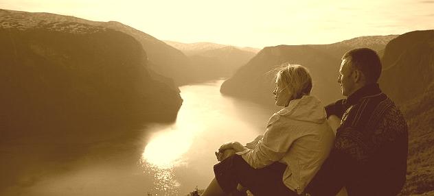 romantic travel sognefjord