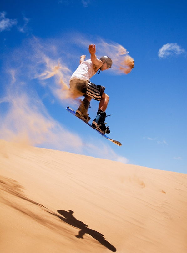 sandboarding extreme sports