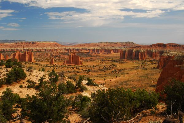 Cathedral Valley, Capitol Reef National Park, Utah_1