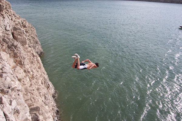 cliff-jump