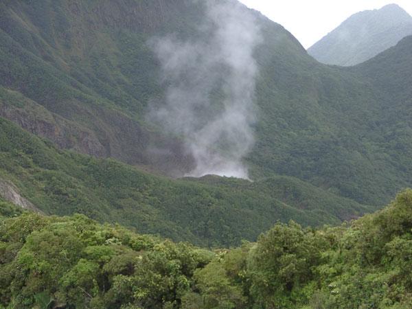 boiling lake Dominica beautiful