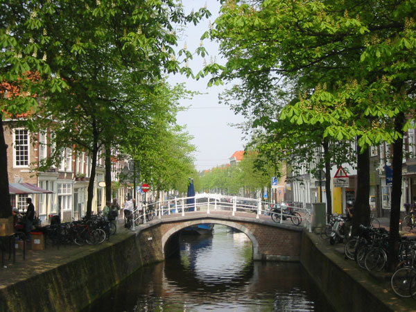 Canal_Of_Delft_The_Netherlands