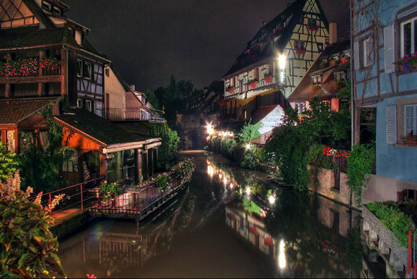 colmar-night-france