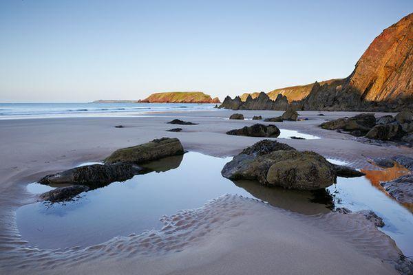sands, Wales