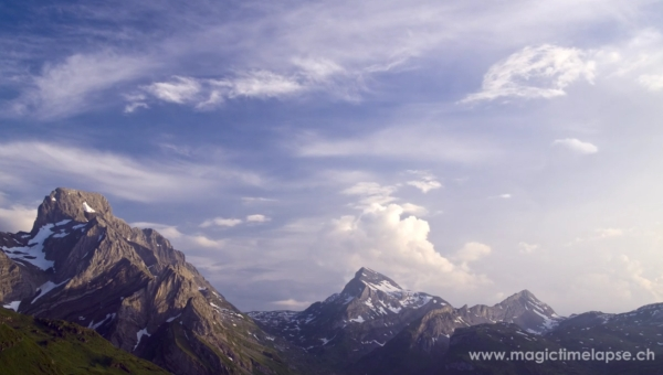 time lapse video alps