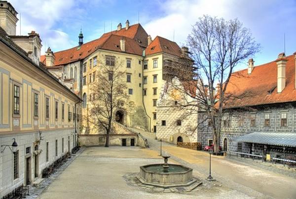 Czech beautiful town