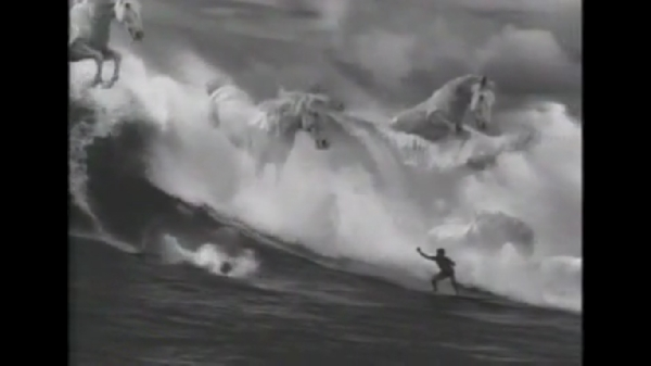 guiness surfer ad