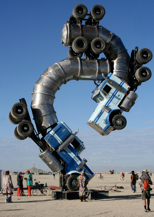 Burning Man_art installation