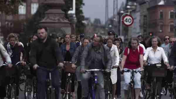 copenhagen's cycling life