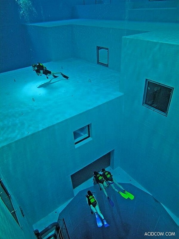 deepest pool in europe