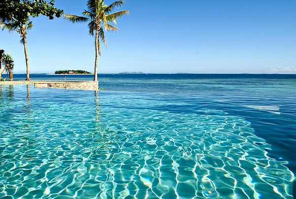 Treasure island infinity pool