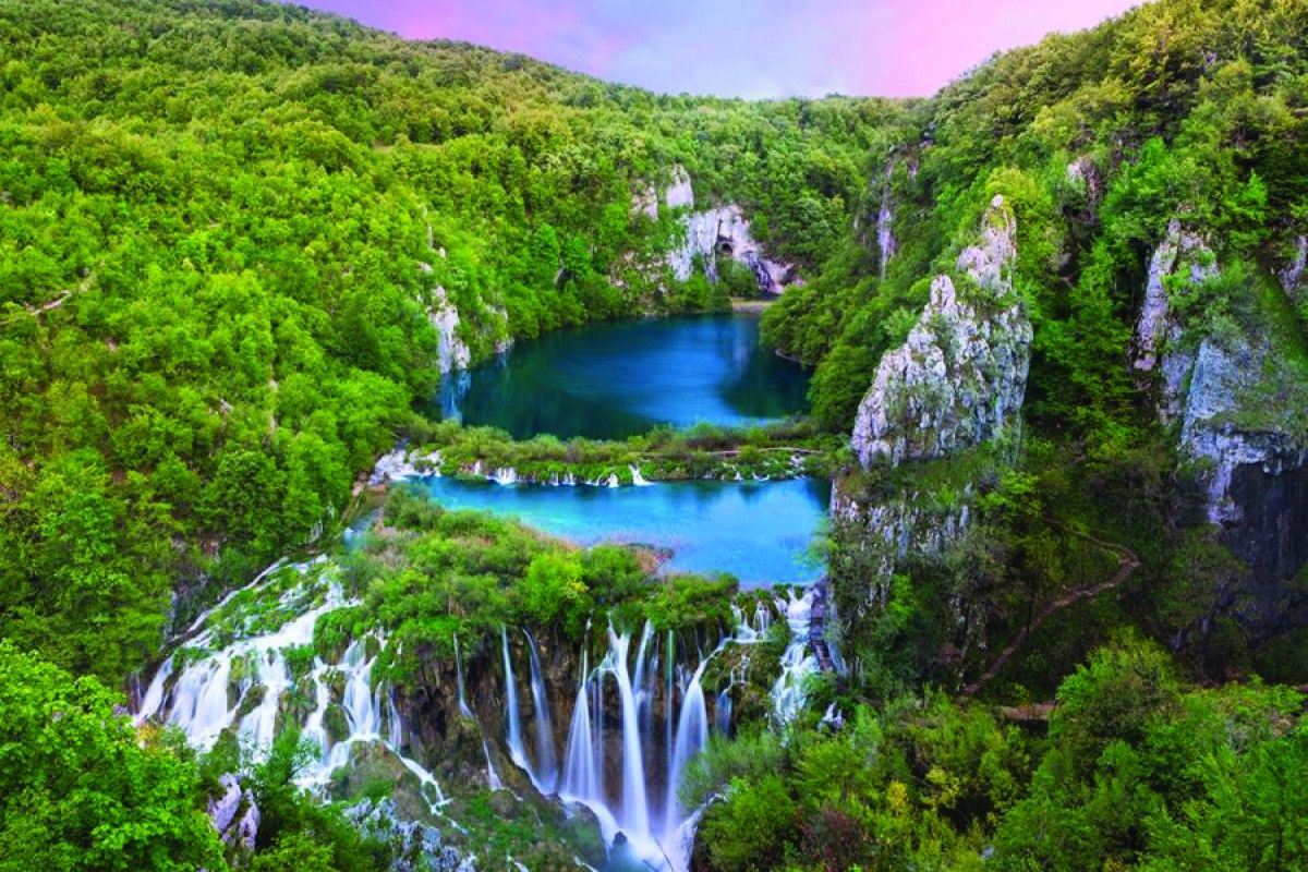 Facts About The Color Green Plitvice Lakes National Park In Croatia A Spectacle Of