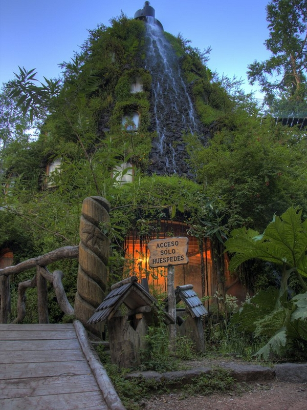 Magic Mountain Lodge Hotel In Chile South America