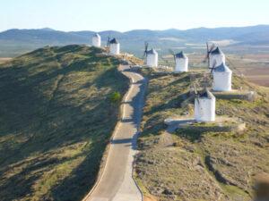 consuegra, don quixote windmills