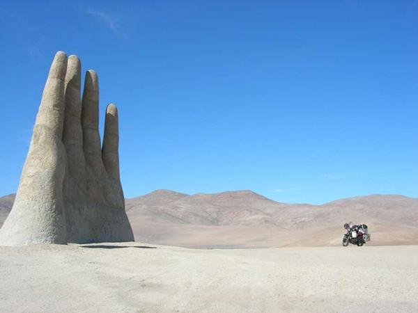Mano de Desierto Atacama