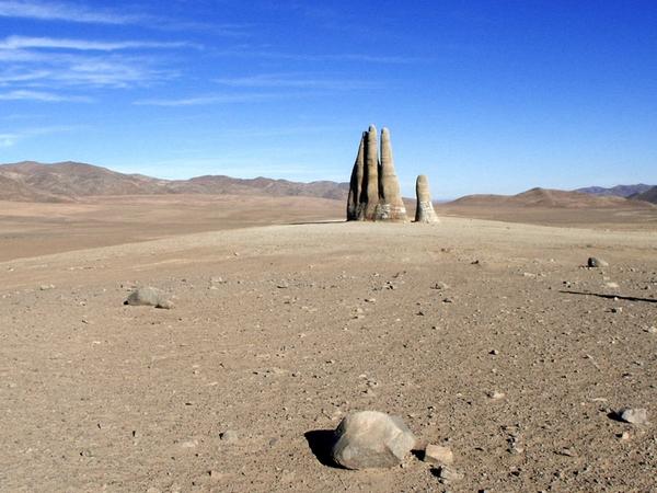 land art Atacama desert