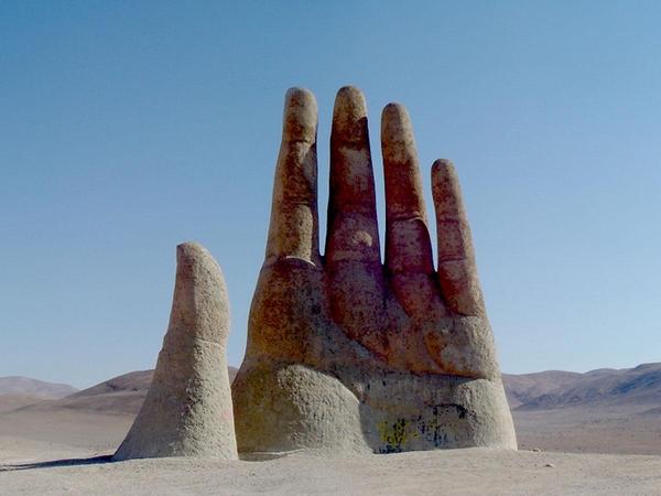 Giant Hand Atacama