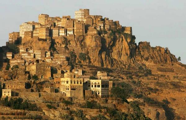 Al-Hajjara-City, Yemen