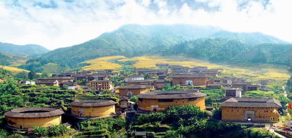Chuxi Village (Fujian_Tulou__China)