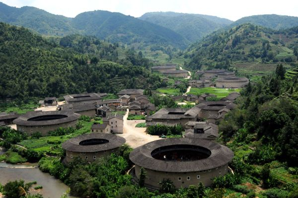 FujianTulou, Chuxi Village, China