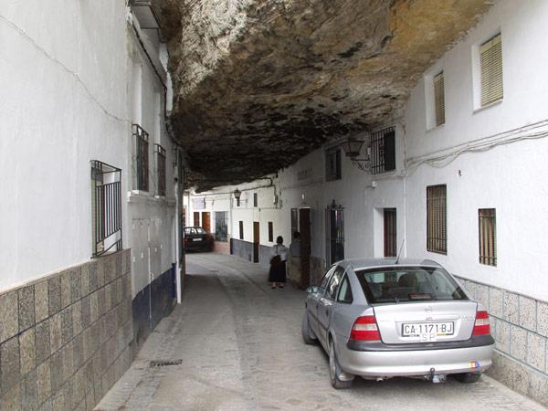 setenil-city-under-rock spain