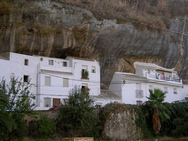 unusual location city under rocks spain