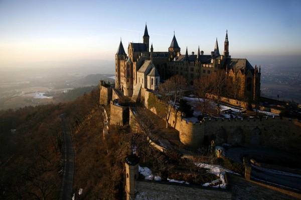 Hohenzoller-Castle exterior