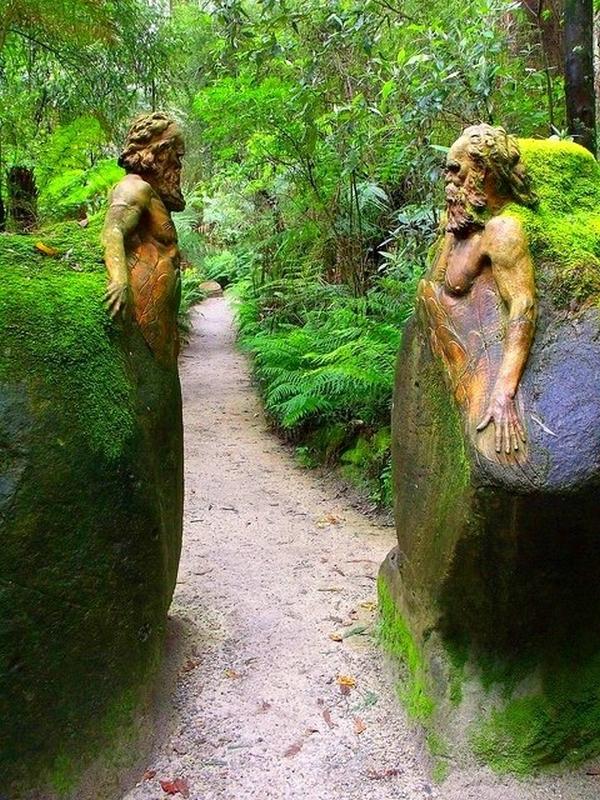 William Ricketts Sanctuary in the Dandenong National Park, Australia
