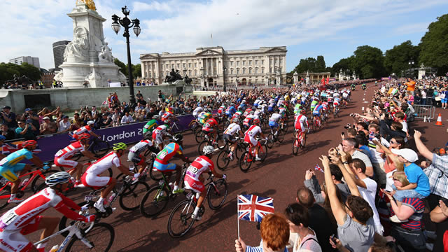 Photo via Prudential RideLondon