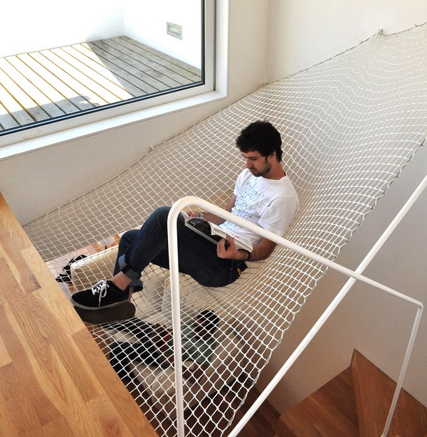 hammock over the stairs 2