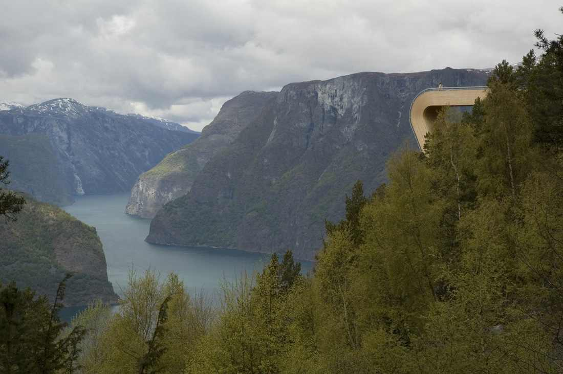 Aurland Outlook Skywalk Norway