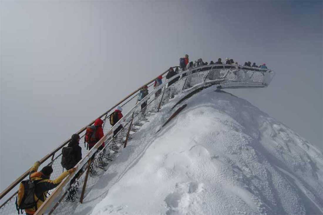 People top of Tyrol