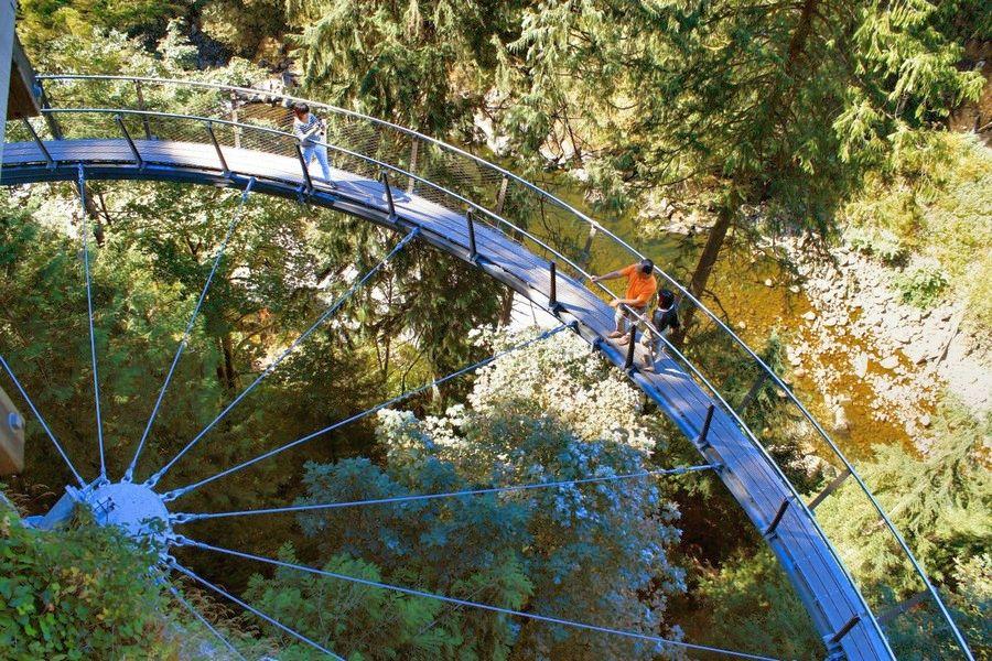 Vancouver-Capilano-cliffwalk