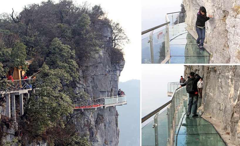 skywalk Tianmen Mountain
