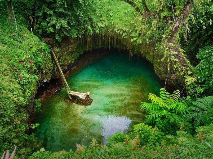 Samoa trench