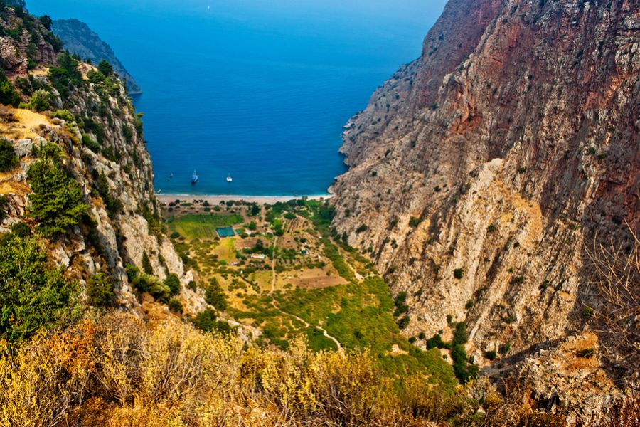 Butterfly Valley, Faralya, Turkey