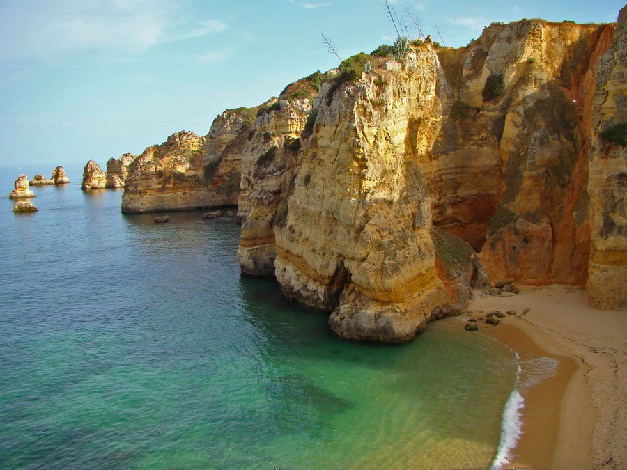 dona ana beach algarve