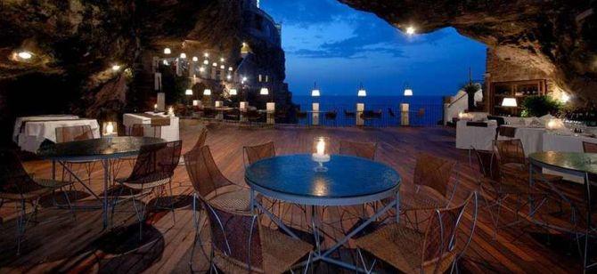 Restaurant Grotte  Terres