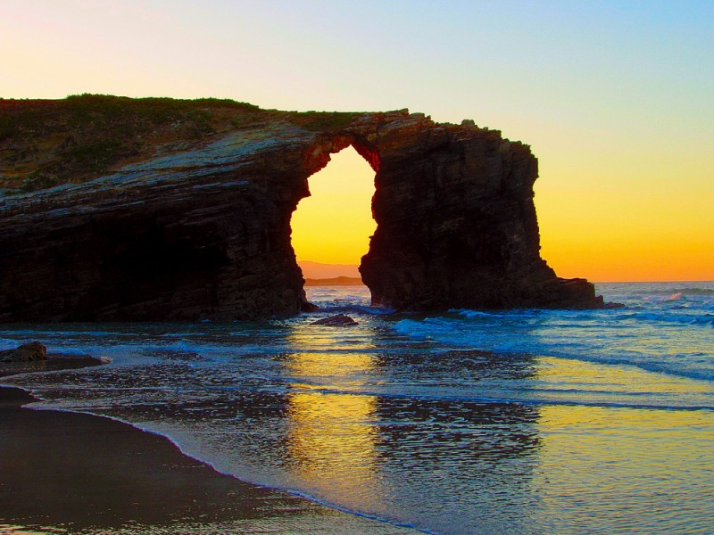 playa de las Catedrales Spain
