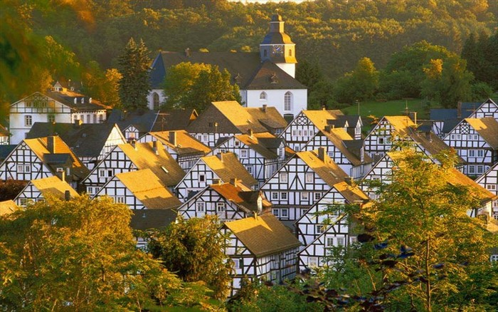 Freudenberg Village Germany