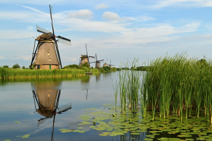 The_windmills_of_Kinderdijk