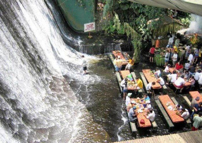 waterfalls restaurant the philippines