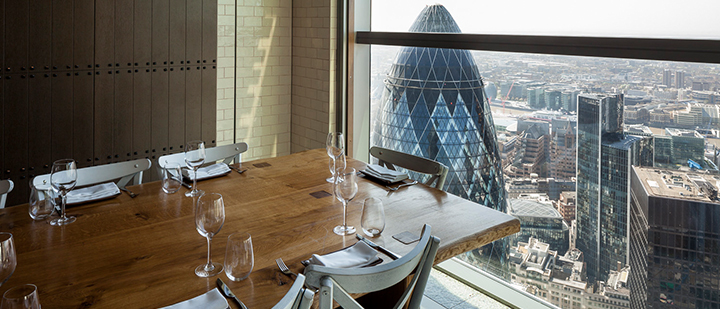 Duck and Waffle restaurant London