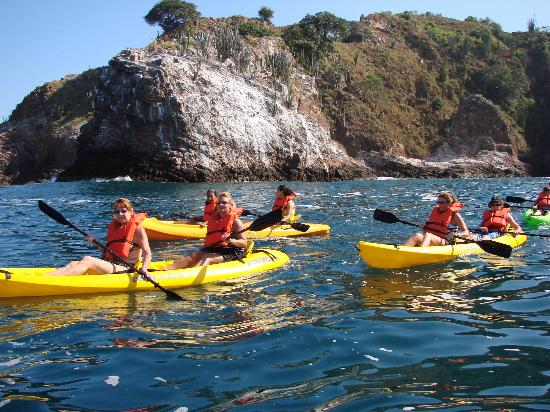adventure kayak tour
