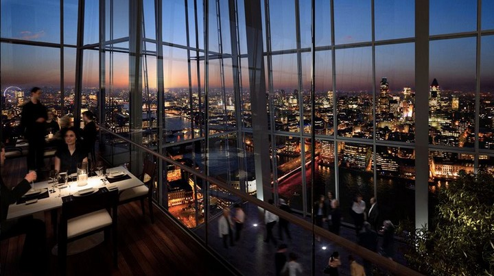 Oblix Rooftop Restaurant London Tourism On The Edge